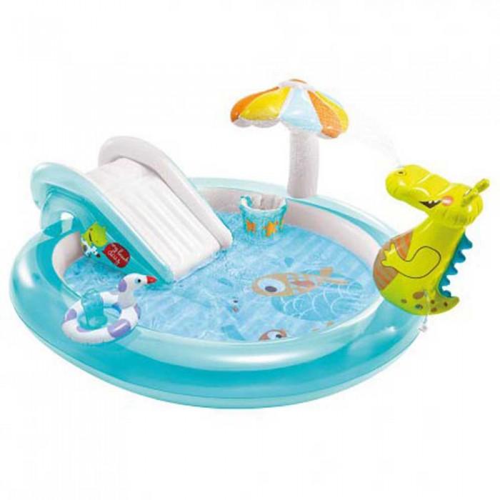 [해외]인텍스 Crocodile Play Centre With Slide 6137566098 Multi