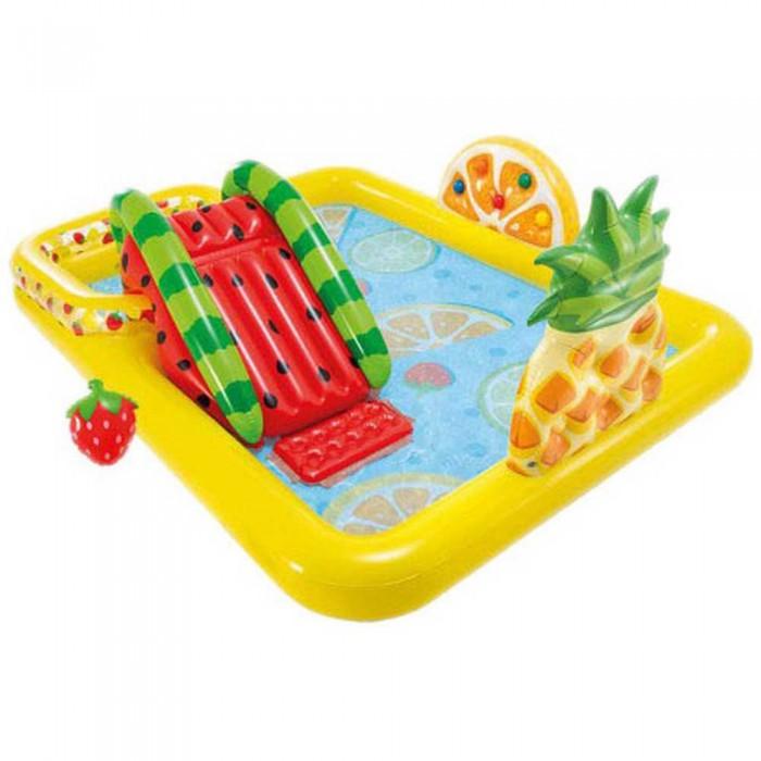 [해외]인텍스 Fruits Play Centre With Slide And Sprinkler 6137566100 Multi