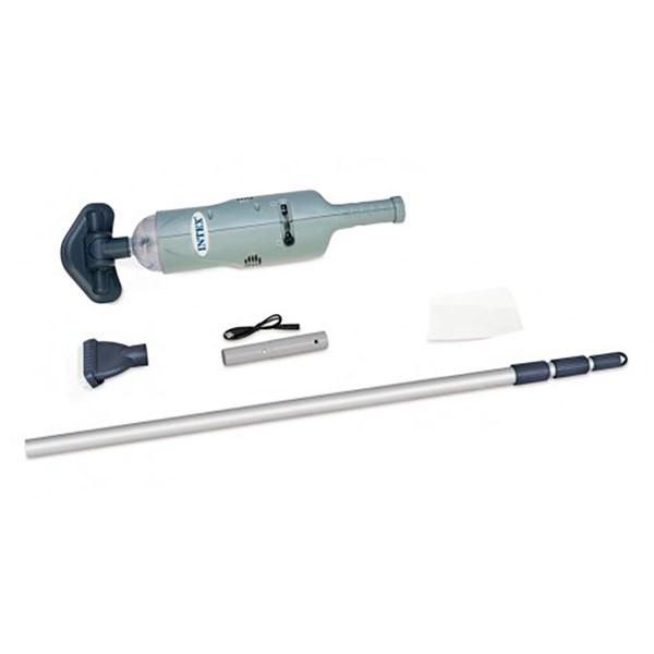 [해외]인텍스 Hand Held Vacuum Cleaner With Telescopic Aluminium Pole 6137566158 Grey