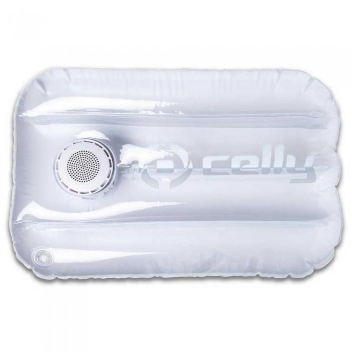 [해외]CELLY PoolPillow Waterproof Speaker&Inflatable 6137919160 White