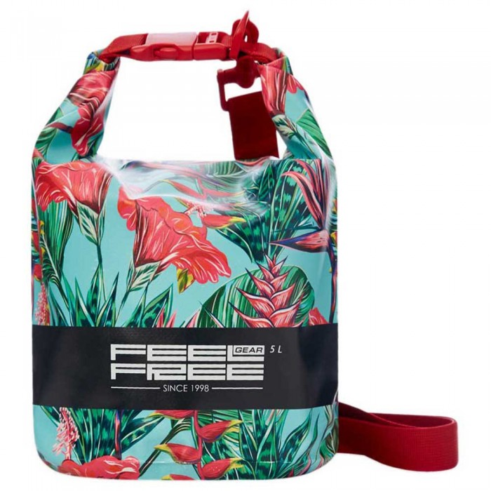 [해외]FEELFREE GEAR Dry Tube Tropical 5L 10137766083 Teal / Red