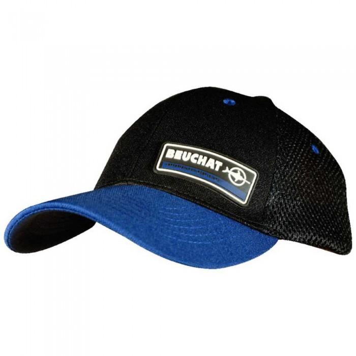 [해외]부샤 Waterwear Cap 10137861752 Black / Blue Deep