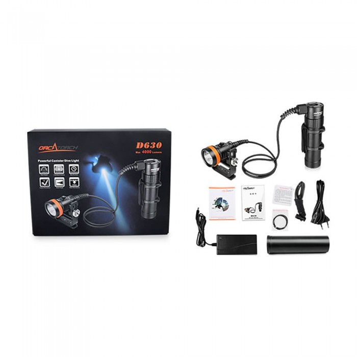 [해외]오카토치 Diving LED Pack 10137881240 Black