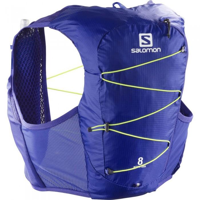 [해외]살로몬 Active Skin 8 Set 6137916542 Clematis Blue / Safety Yellow