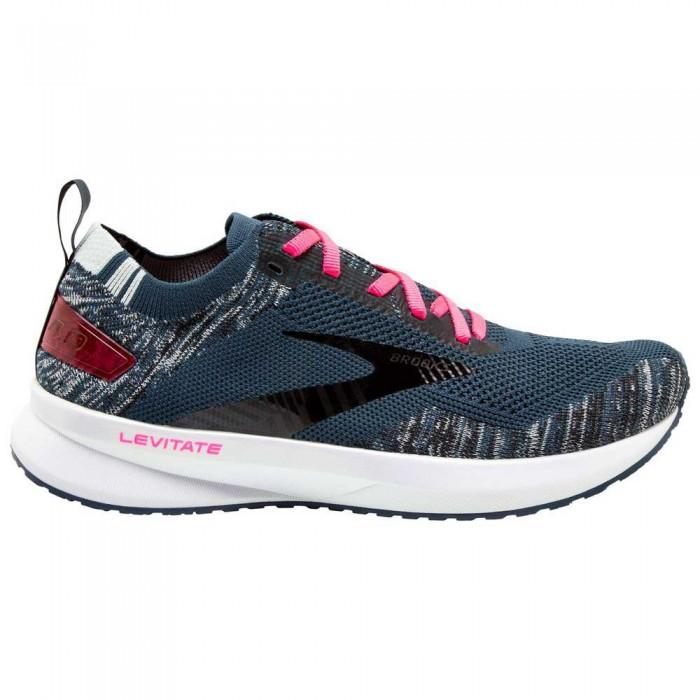 [해외]브룩스 Levitate 4 6137860078 Navy / Black / Pink