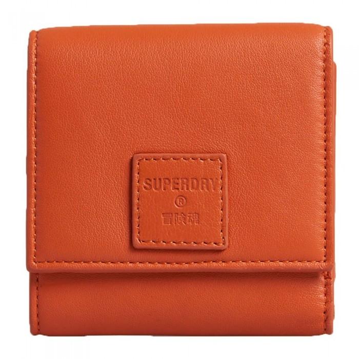 [해외]슈퍼드라이 Small Fold Purse 137776576 Fiery Orange