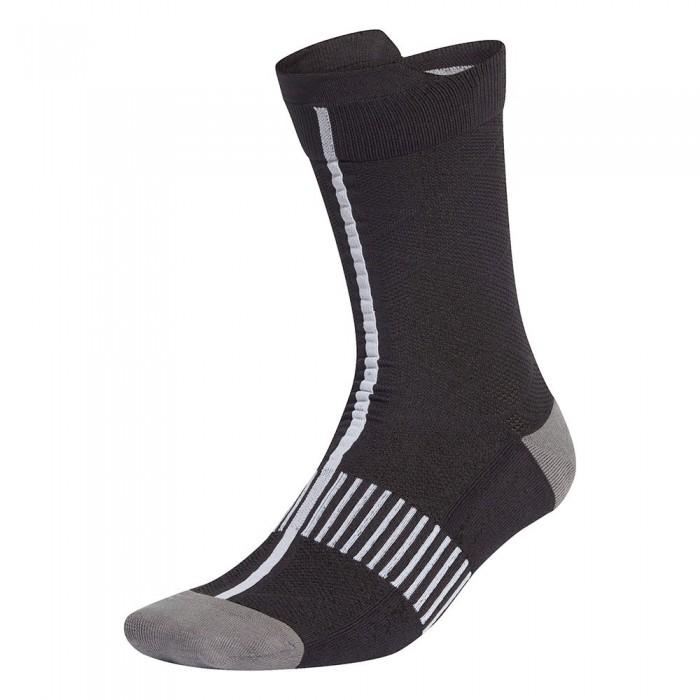 [해외]아디다스 Ultralight Crew Performance Socks 7137894426 Black / White