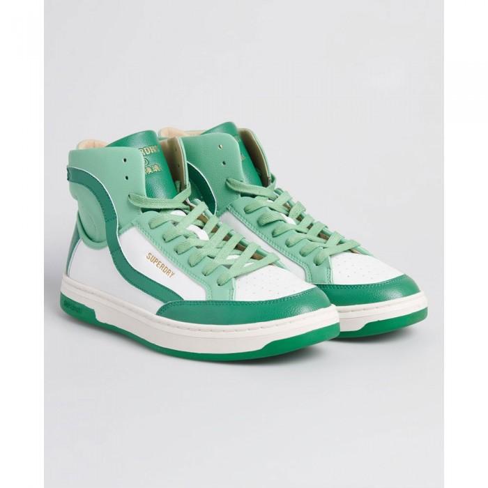 [해외]슈퍼드라이 Vegan Basket Lux White / Green