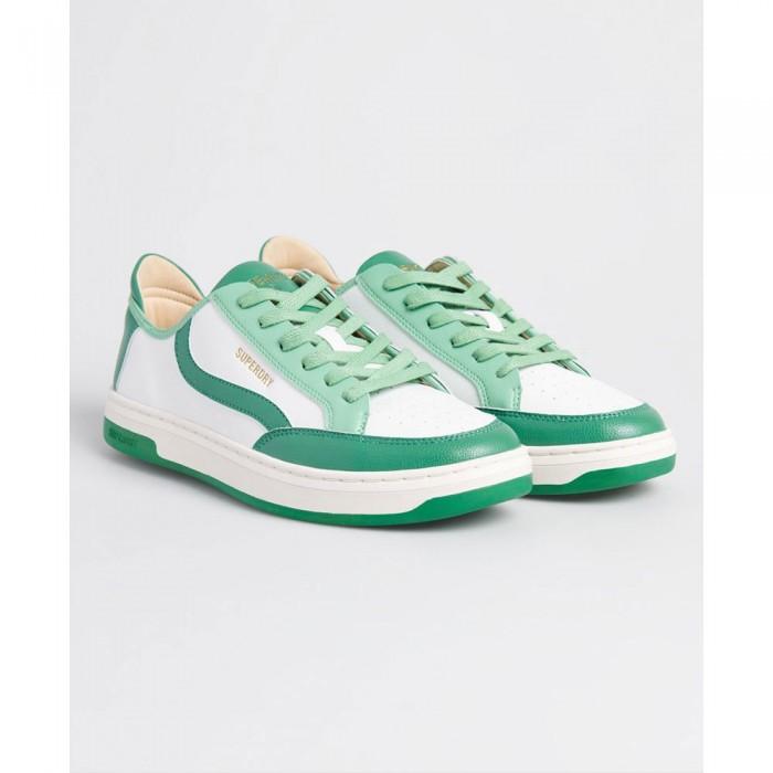 [해외]슈퍼드라이 Vegan Basket Lux Low White / Green