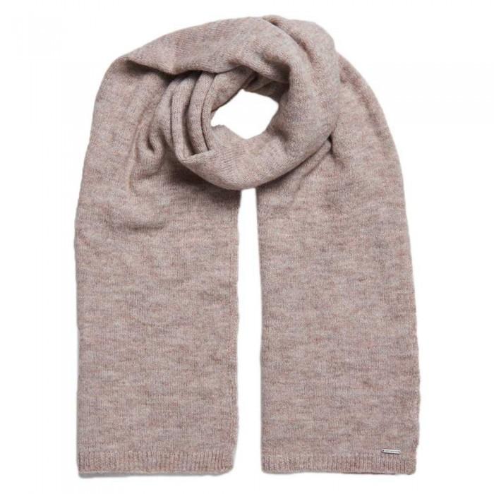 [해외]슈퍼드라이 Alpaca Blend Blanket 137561151 Soft Caramel Marl