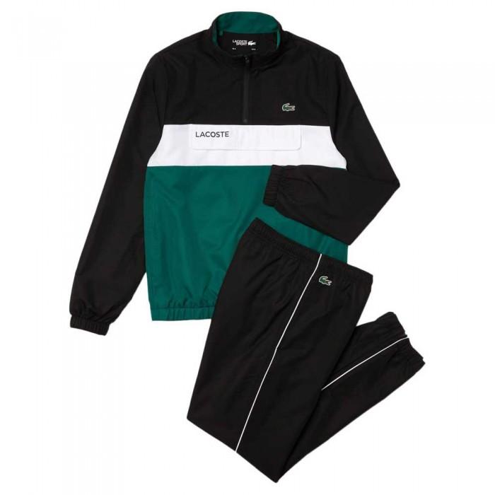 [해외]라코스테 Sport Packable 7137944774 Noir / Bouteille-Blanc