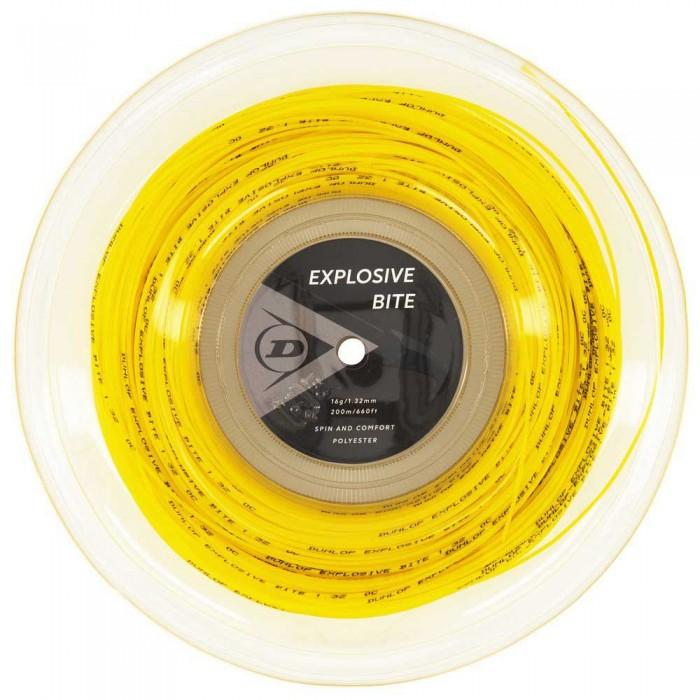 [해외]던롭 Explosive Bite Polyester 200 m 12137959892 Yellow