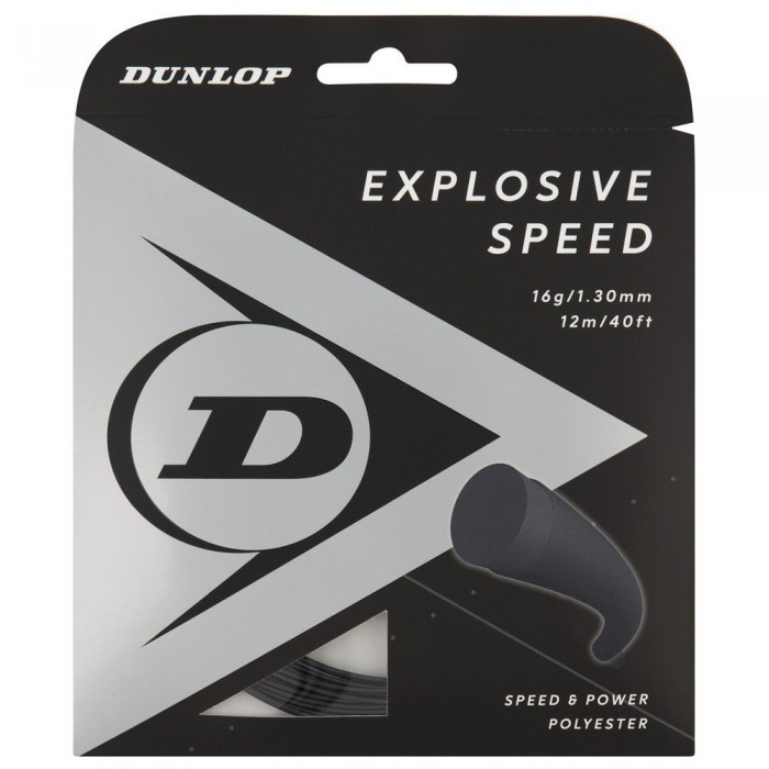 [해외]던롭 Explosive Speed Polyester 12 m 12137959893 Black