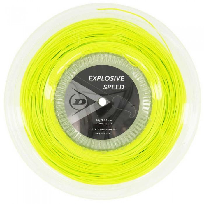 [해외]던롭 Explosive Speed Polyester 200 m 12137959898 Yellow