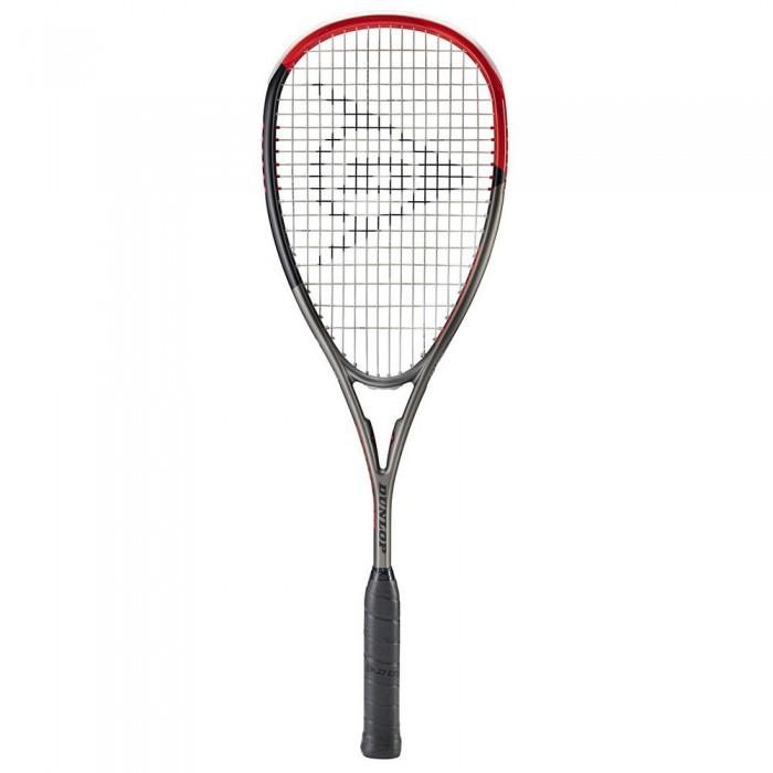 [해외]던롭 Blackstorm Carbon 5.0 Squash Racket 12137959881 Gunmetal / Black / Red