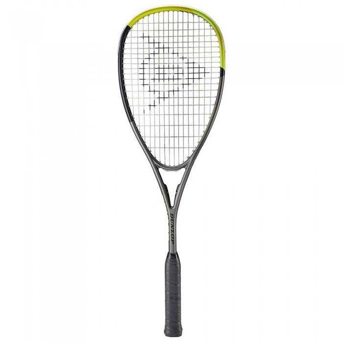 [해외]던롭 Blackstorm Graphite 5.0 Squash Racket 12137959882 Gunmetal / Black / Yellow