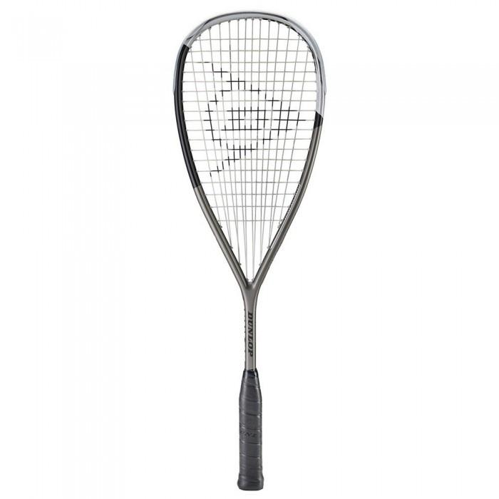 [해외]던롭 Blackstorm Titanium 5.0 Squash Racket 12137959883 Gunmetal / Black / Silver
