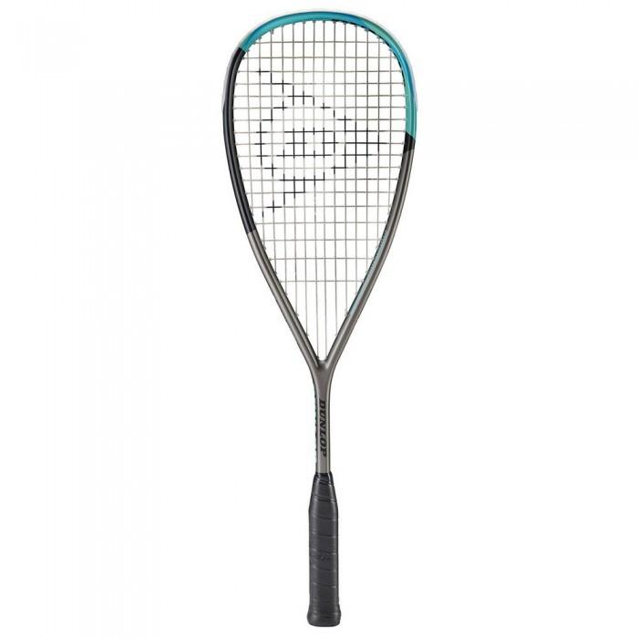 [해외]던롭 Blackstorm Titanium SLS Squash Racket 12137959884 Gunmetal / Black / Teal