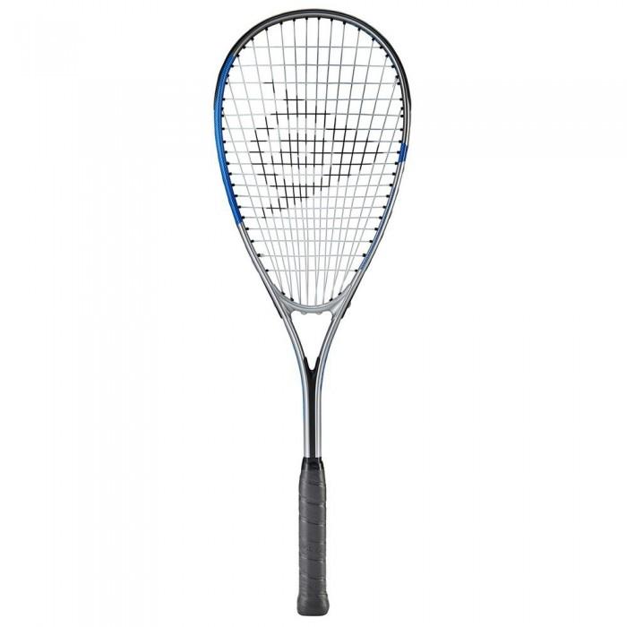 [해외]던롭 Sonic Lite Ti 5.0 Squash Racket 12137959886 Silver / Blue