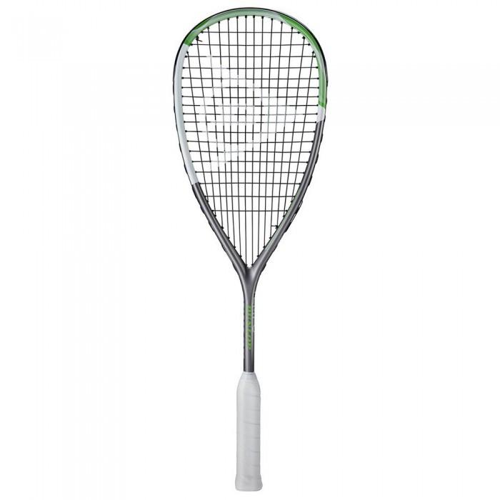 [해외]던롭 Tempo Pro TD Squash Racket 12137959888 Dark Grey / White / Green