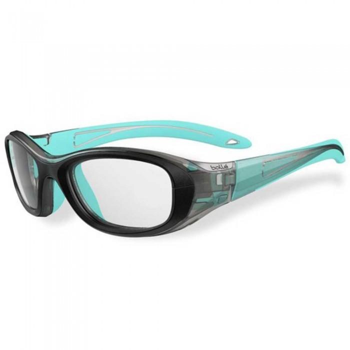 [해외]볼레 Coverage 48 Squash Glasses Junior 12137955777 Black / Blue Lagoon