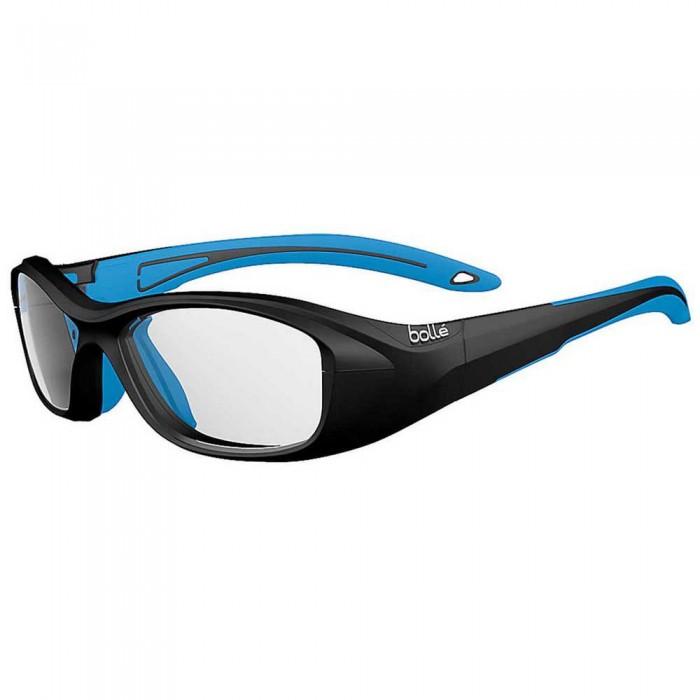 [해외]볼레 Swag 53 Squash Glasses Junior 12137955780 Matte Black / Electric Blue
