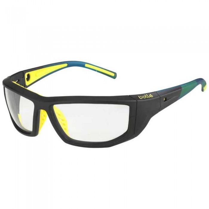 [해외]볼레 Playoff Squash Glasses 12137955788 Matte Black / Yellow