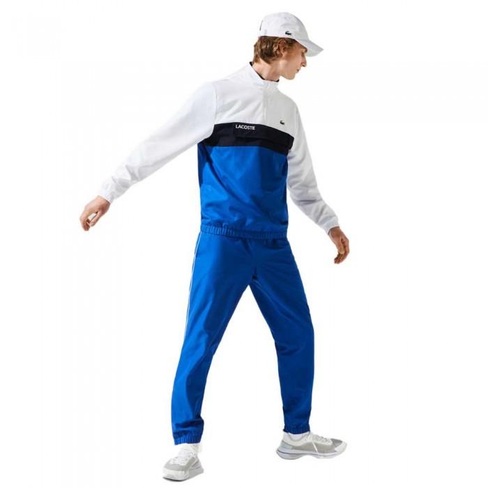 [해외]라코스테 Sport Packable 12137944772 Blanc / Lazuli-Marine