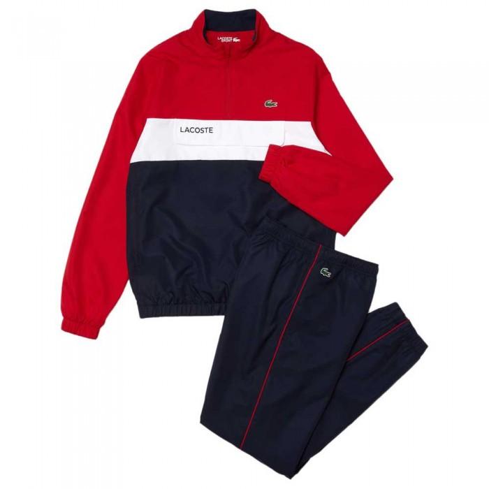[해외]라코스테 Sport Packable 12137944773 Rubis / Marine-Blanc