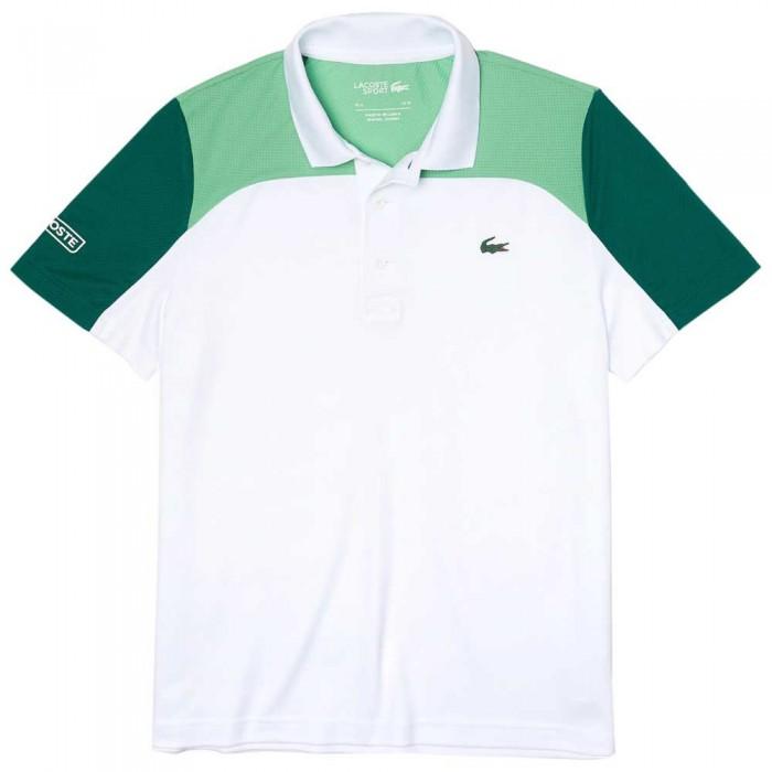 [해외]라코스테 Sport Breathable Colourblock 12137944539 Blanc / Liamone-Bouteille