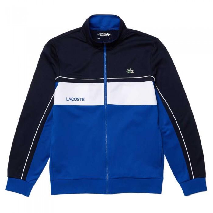[해외]라코스테 Sport Resistant Colourblock Piqu? 12137944700 Marine / Lazuli-Blanc-Lazul