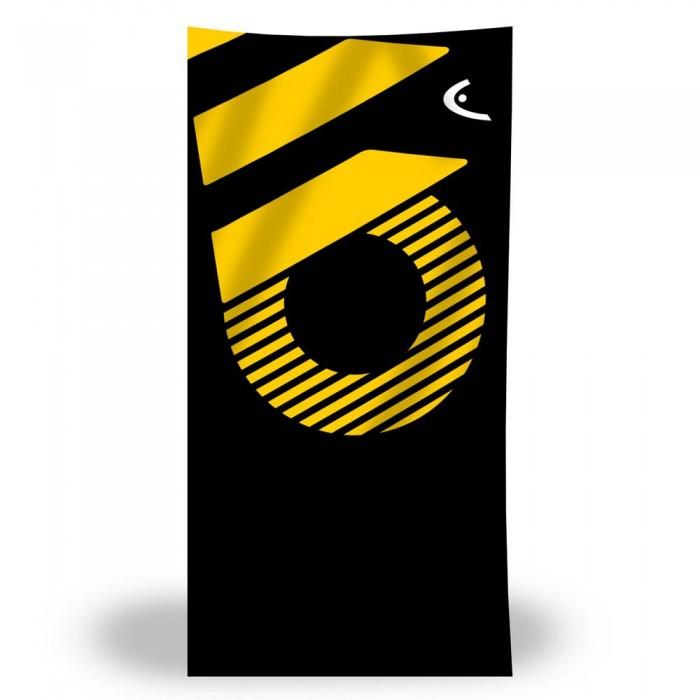 [해외]헤드 SWIMMING Printed Microfiber 6137896146 Black / Yellow