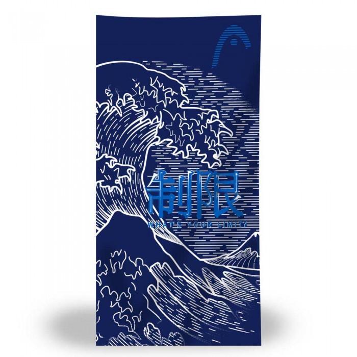 [해외]헤드 SWIMMING Printed Microfiber 6137896148 Navy / Light Blue