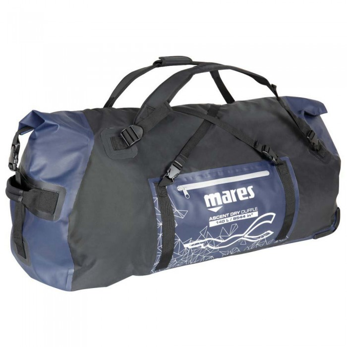 [해외]마레스 Ascent Dry Duffle 140L 10137923771 Blue / Black