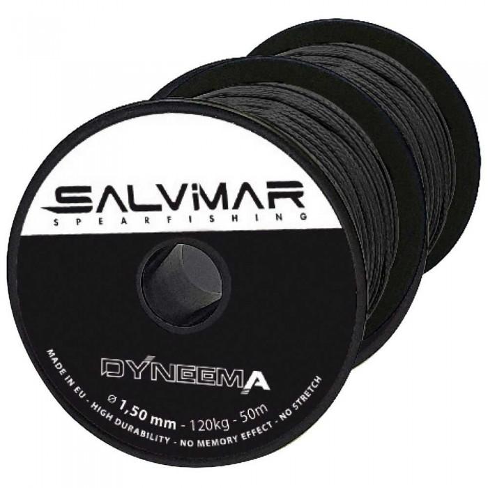 [해외]살비마 Dyneema 1.5 mm 120 Kg 10137916241 Black