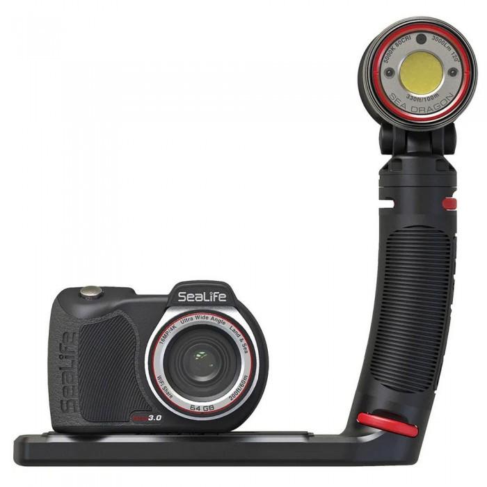 [해외]SEALIFE Micro 3.0 Pro 3000 Auto Set 10137954540 Black / Red