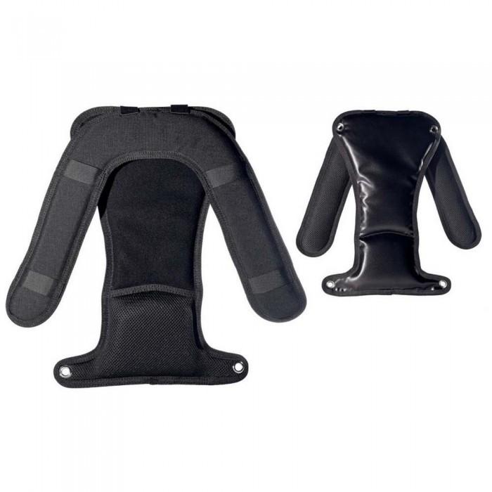 [해외]마레스 XR-REC Back Shoulders Padding 10137923718 Black