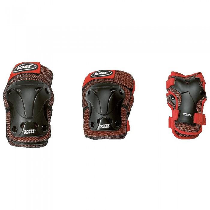 [해외]로체스 Ventilated Junior 3 Pack 14137949281 Red / Black