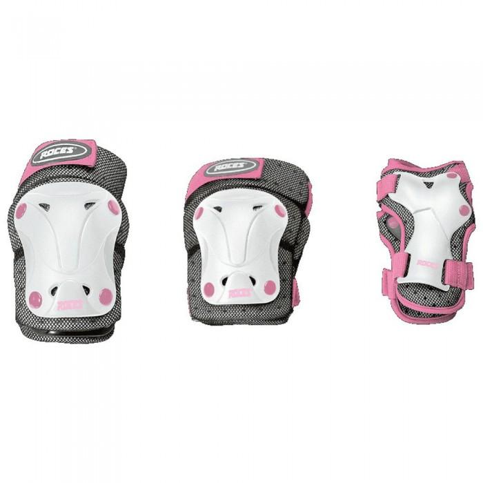 [해외]로체스 Ventilated Junior 3 Pack 14137949282 White / Pink