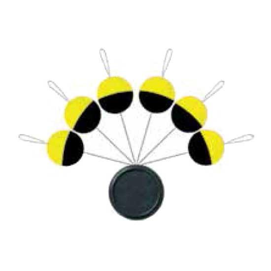 [해외]SERT XT Blister Float Round 8136269492 Black / Fluo Yellow