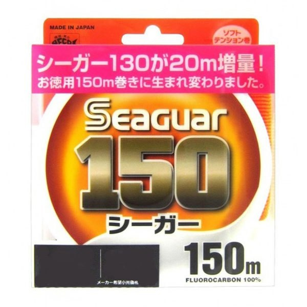 [해외]SEAGUAR Fluorocarbon 150 m 8137955568 Transparent