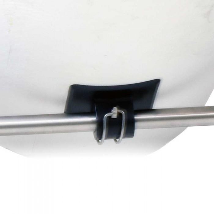 [해외]PIKE N BASS Patch For Belly Boat Wheel Pair 8137923406 Black