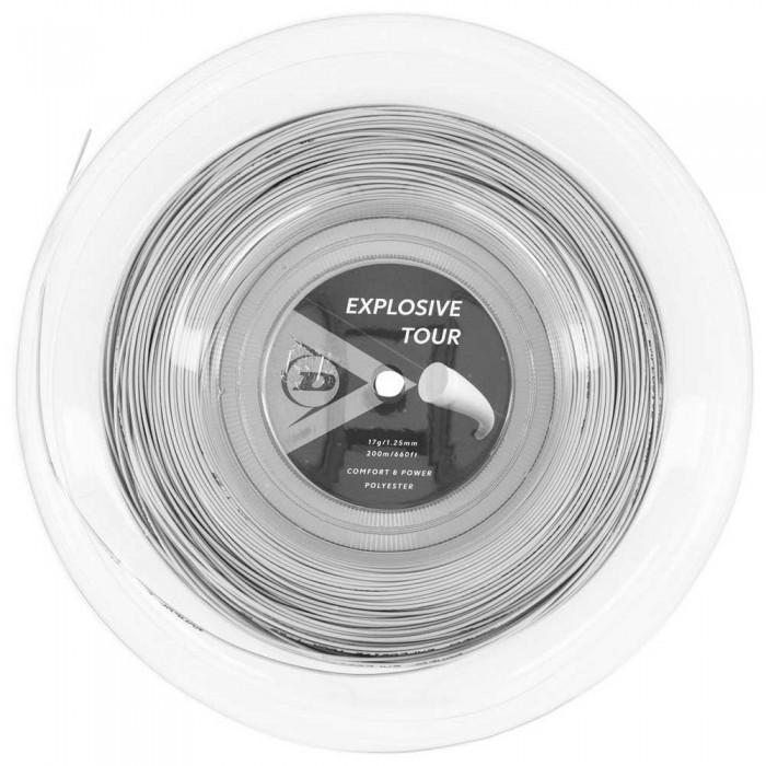 [해외]던롭 Explosive Tour Polyester 200 m 12137959912 Silver