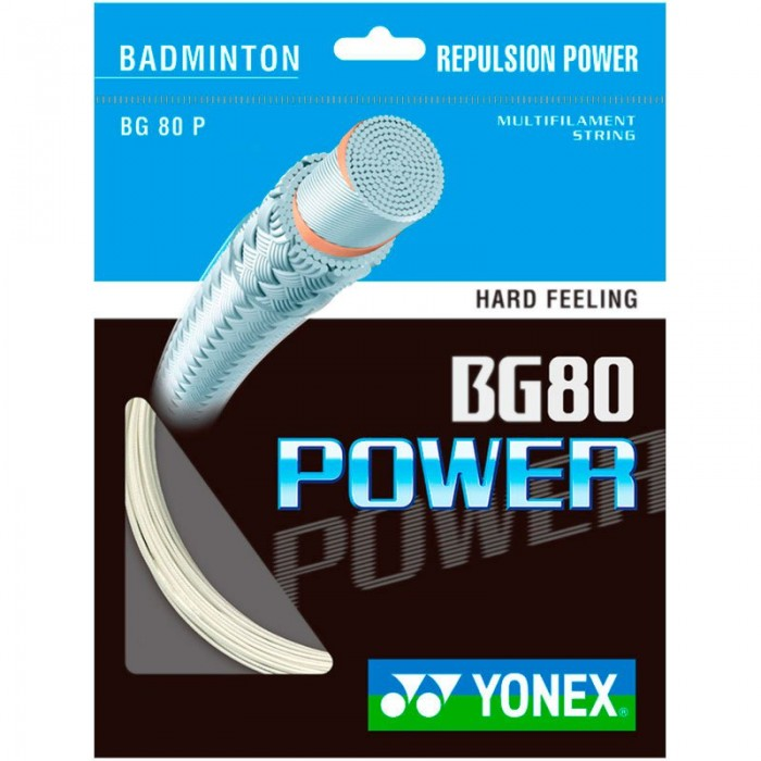 [해외]YONEX BG80 Power 200 m 12137714557 White