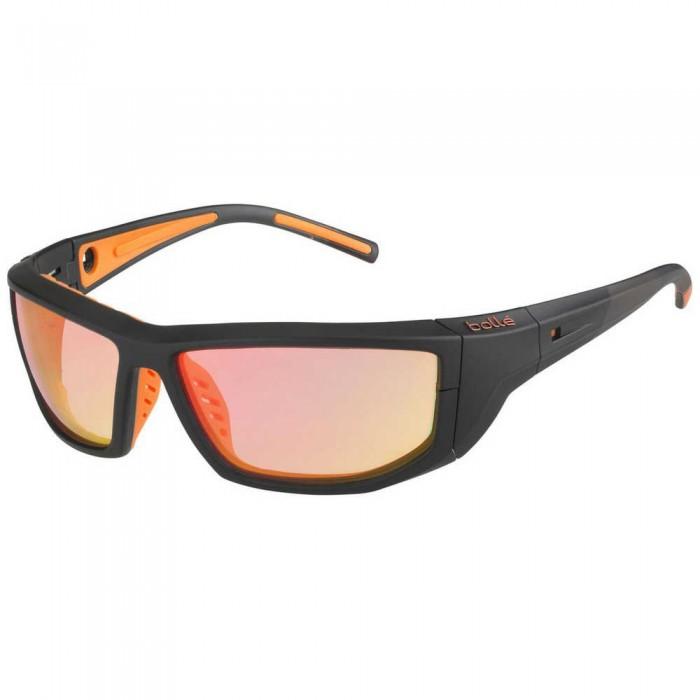 [해외]볼레 Playoff Photochromic Squash Glasses 12137968414 Matte Black / Orange