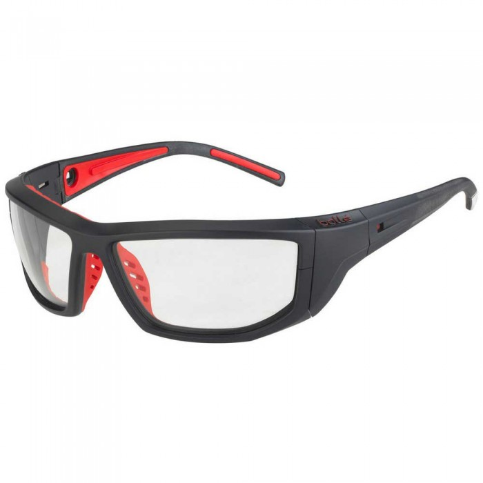 [해외]볼레 Playoff Photochromic Squash Glasses 12137968415 Matte Navy / Fluo Red