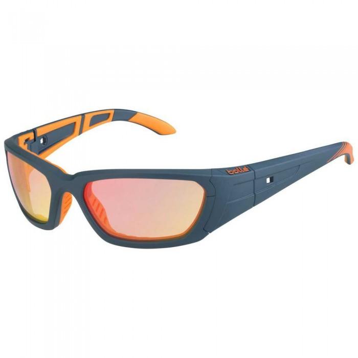 [해외]볼레 League Photochromic Squash Glasses 12137968416 Matte Dark Petrol / Orange