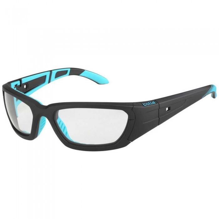 [해외]볼레 League Photochromic Squash Glasses 12137968417 Matte Black / Blue