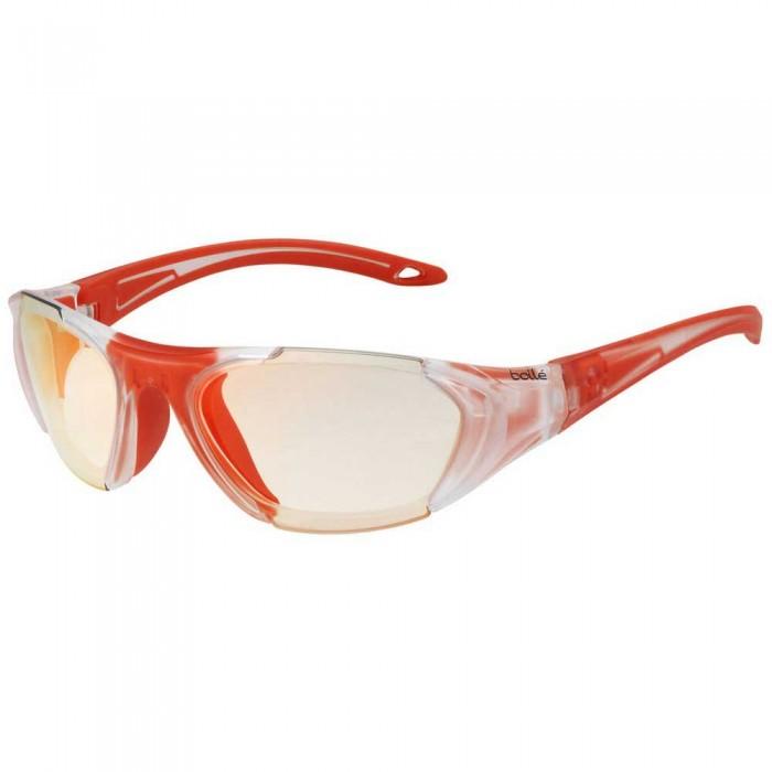 [해외]볼레 Field Photochromic Squash Glasses 12137968418 Matte Crystal / Orange