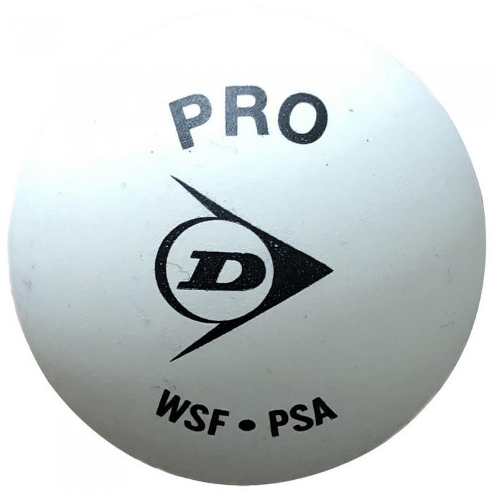 [해외]던롭 Pro Double Yellow Dot Squash Balls Box 12137959879 White